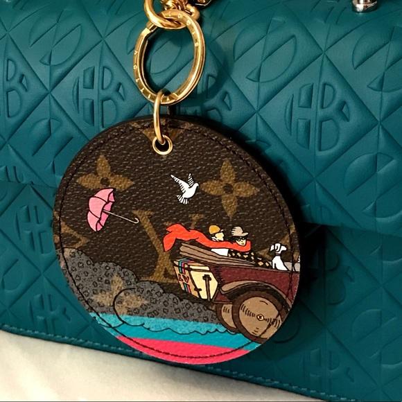 91c265eb45 Louis Vuitton Illustre Bag Charm & Key Holder